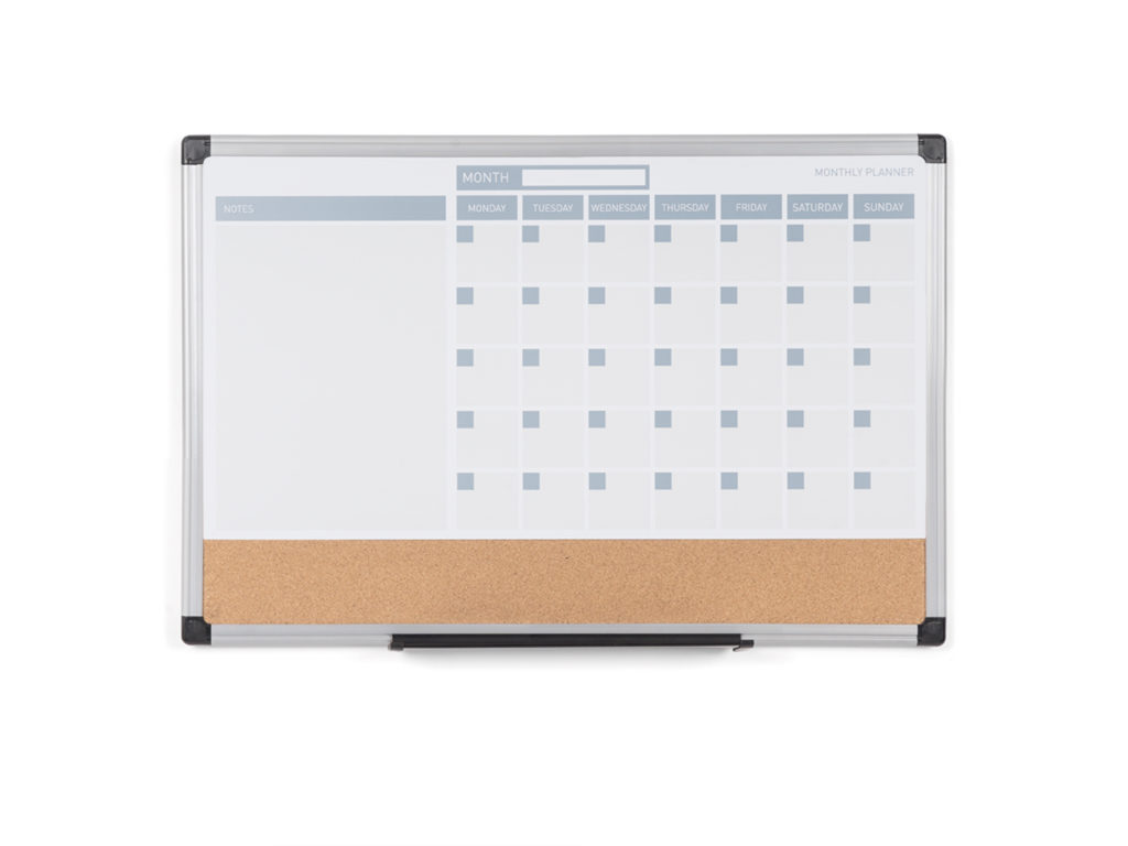 3-in-1 Monthly Magnetic Planner