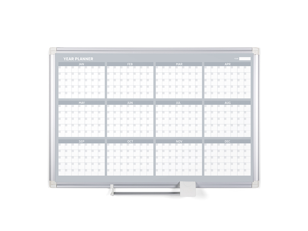 12 Month Yearly Magnetic Dry-Erase Planner