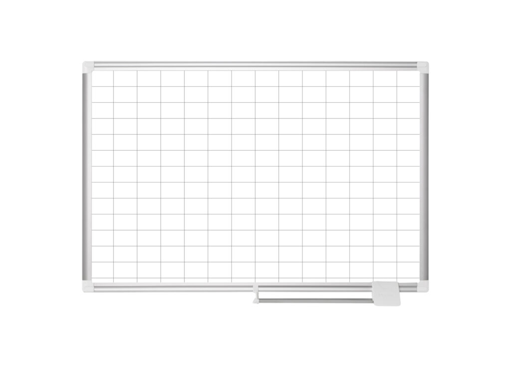 2x 3 Grided Magnetic Steel Planner Board