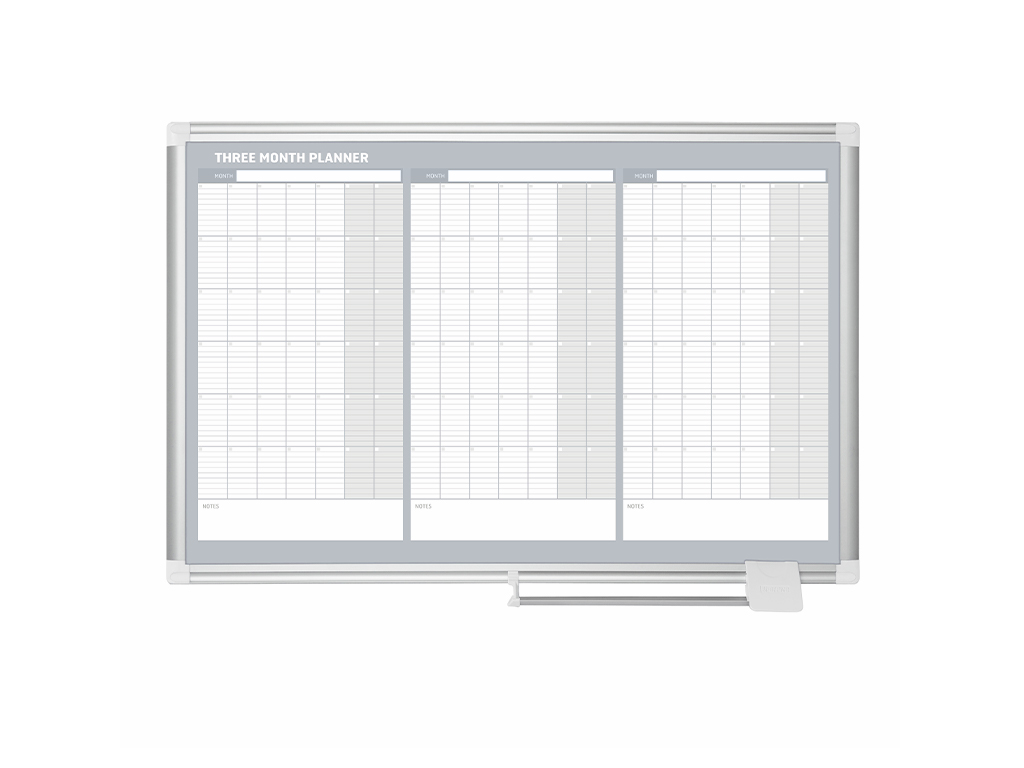 3 Month Magnetic Dry-Erase Planner