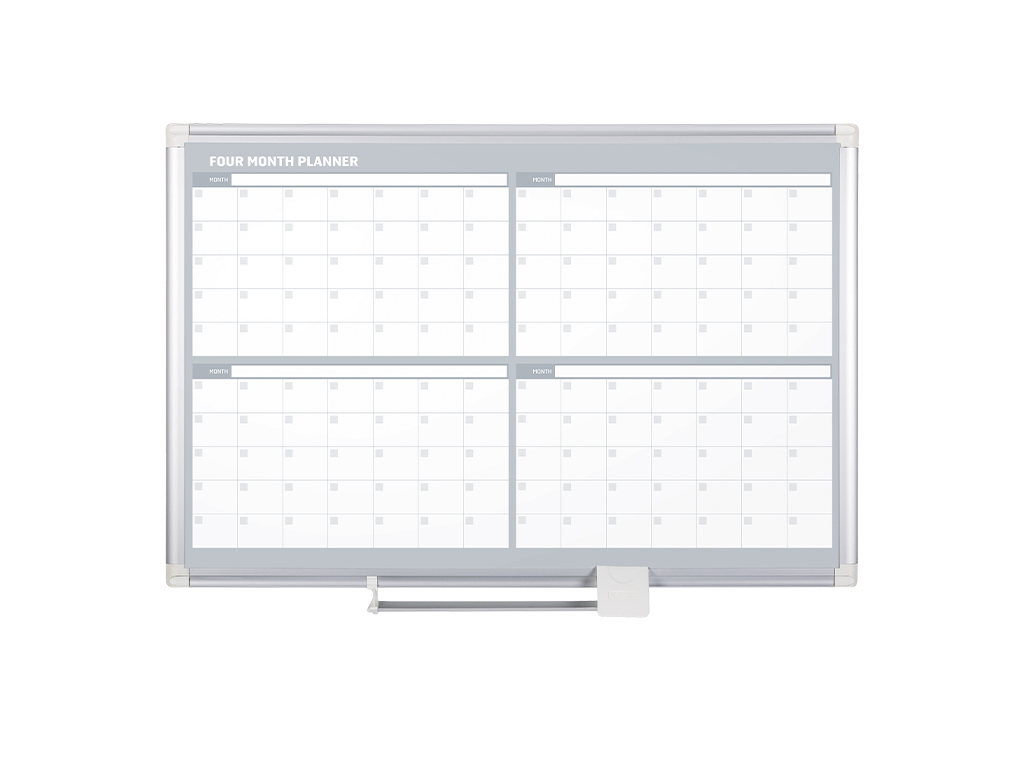 4 Month Magnetic Dry-Erase Planner