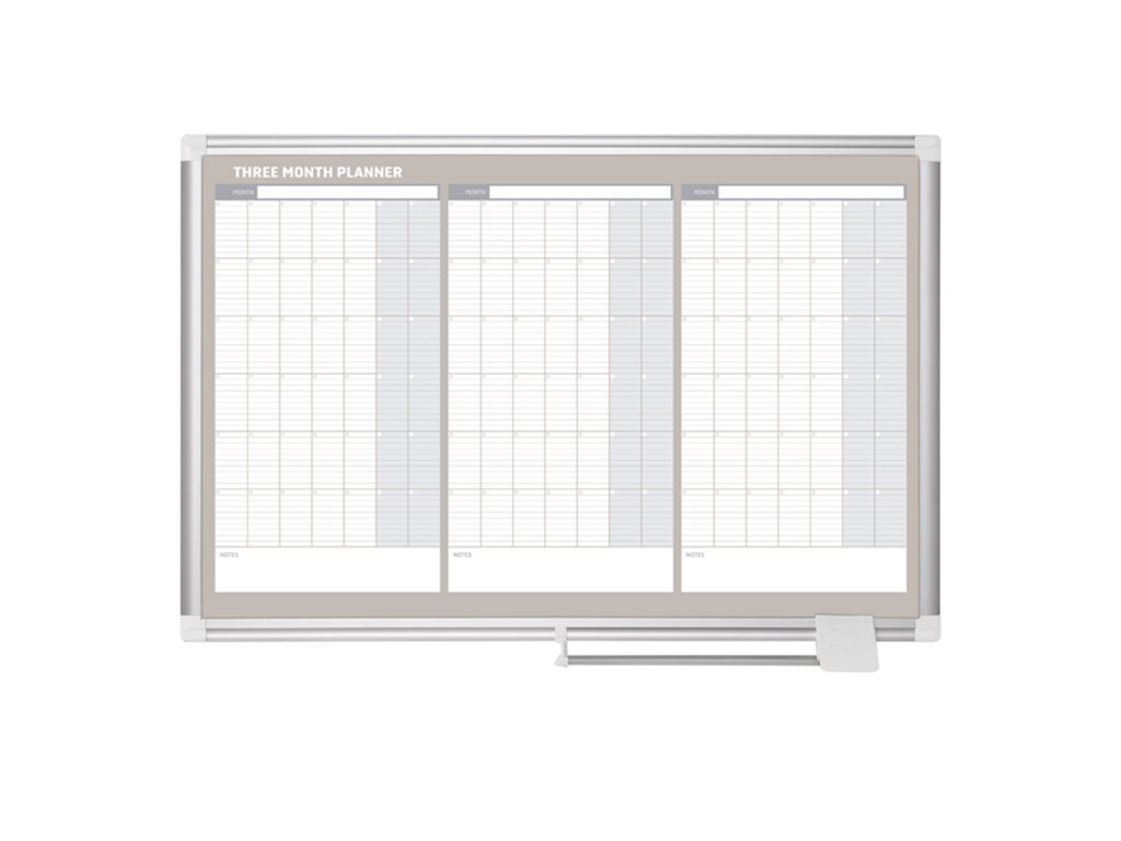 3 Month Magnetic Dry-Erase Planners
