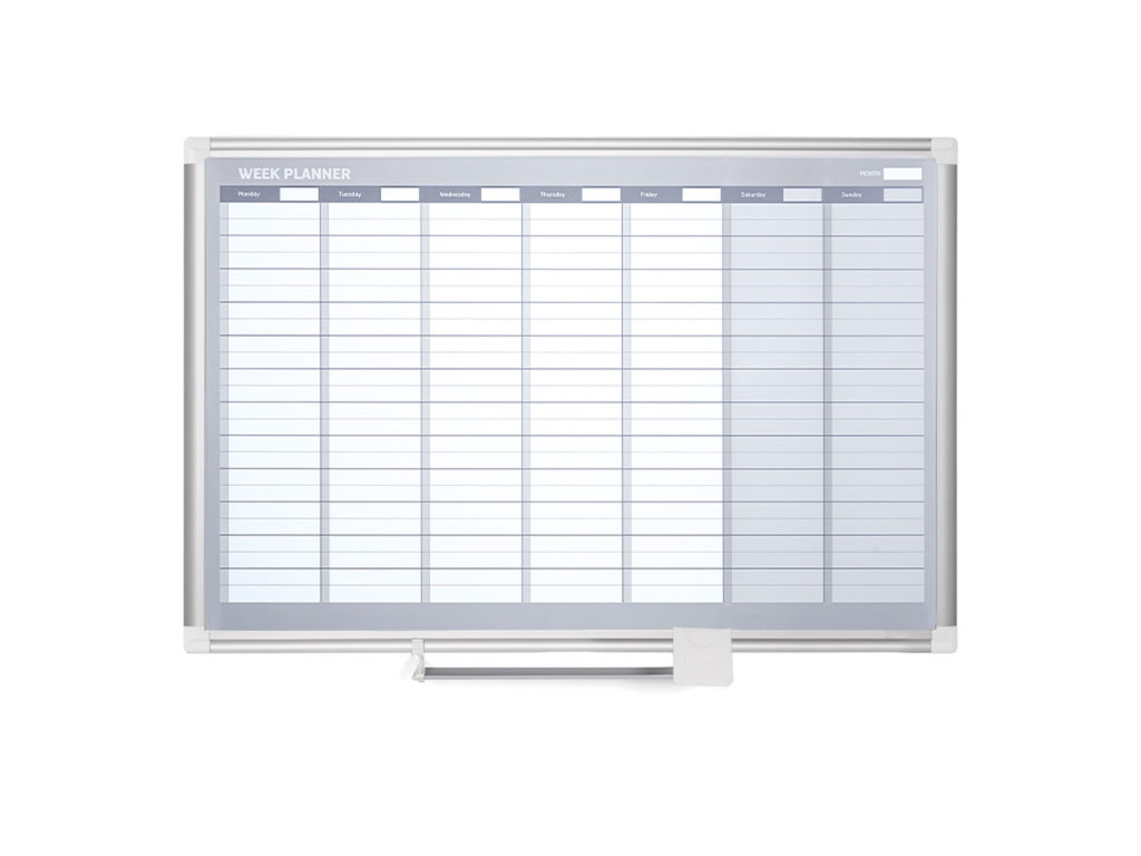 Weekly Magnetic Dry-Erase Planner
