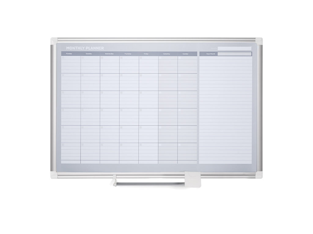 Monthly Magnetic Dry-Erase Planner