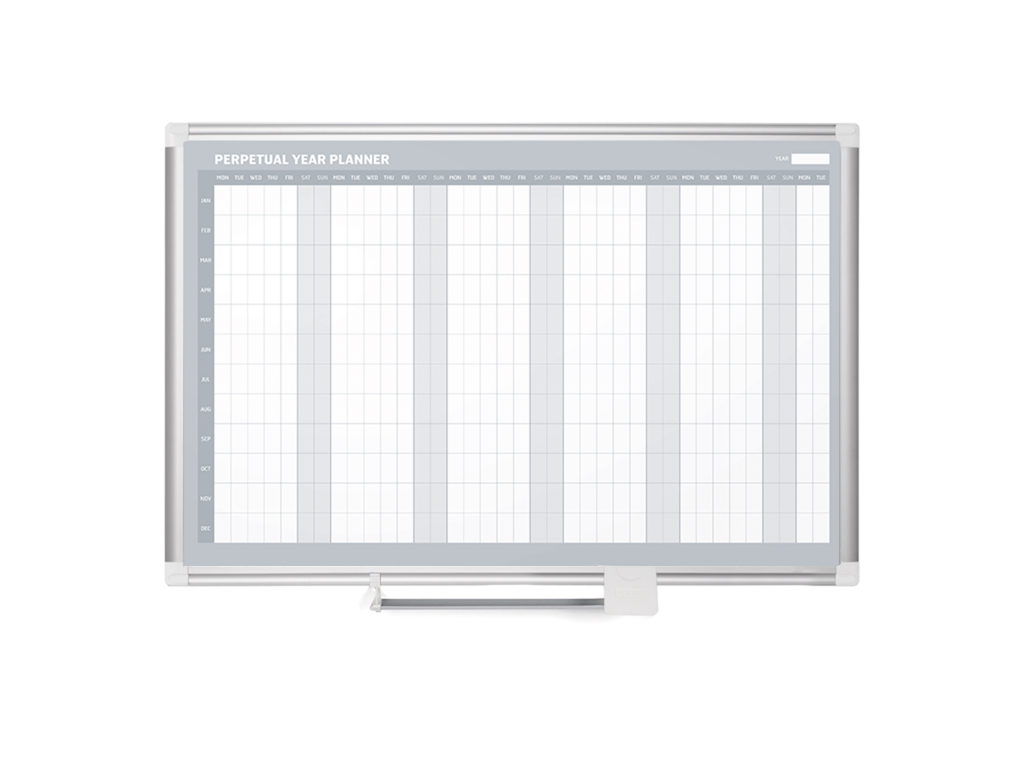 Annual Yearly Magnetic Dry-Erase Planner
