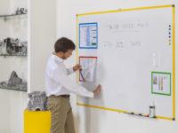 Industrial Series Magnetic Steel Whiteboard