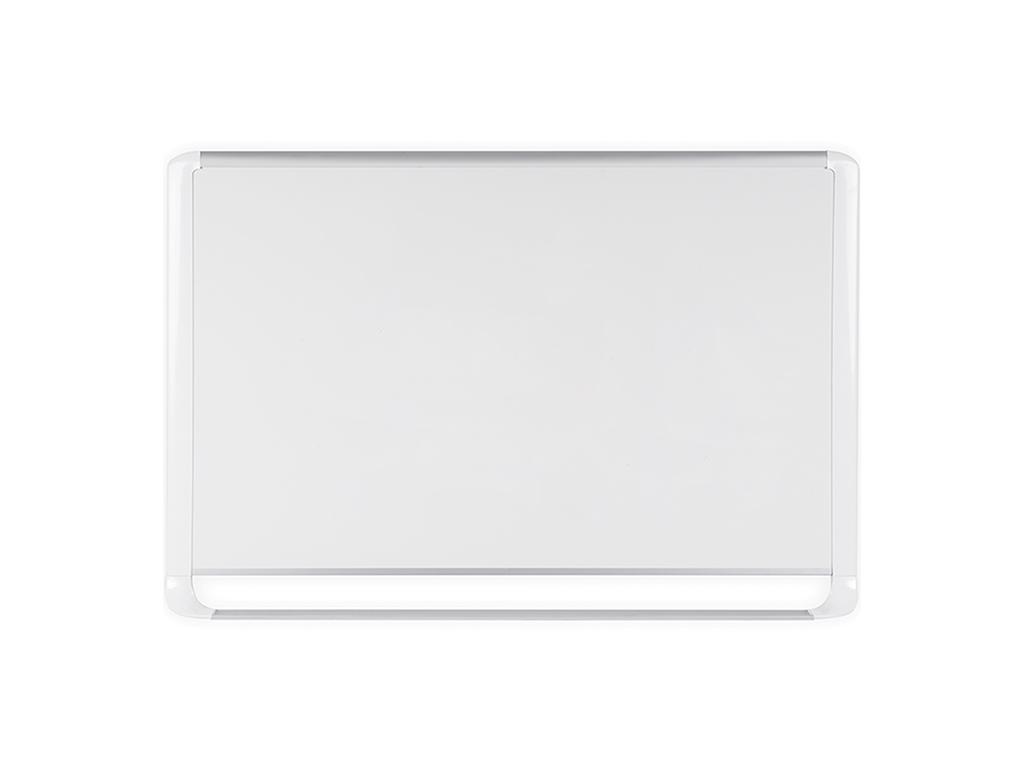 MVI Series Magnetic Steel Whiteboard White Frame