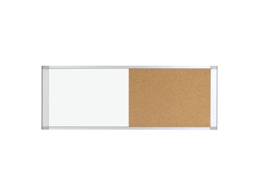 Cubicle Worksation Half Cork Half Magnetic Steel Whiteboard