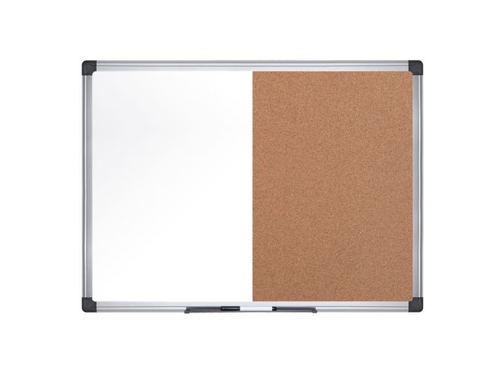 Maya Series Cork Combo Board Aluminium Frame