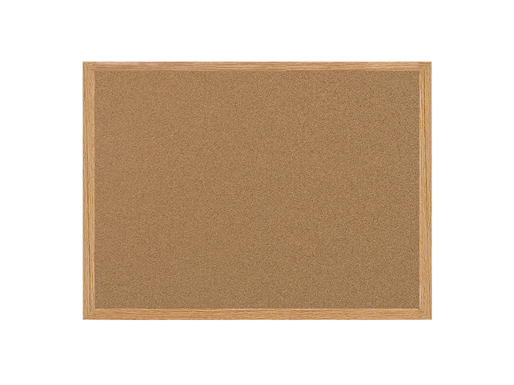 Earth Series Cork Board Wood Frame