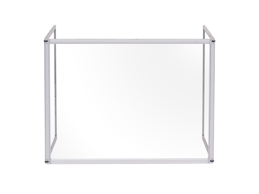 Trio Glass Boards Aluminum Framed with Clamps