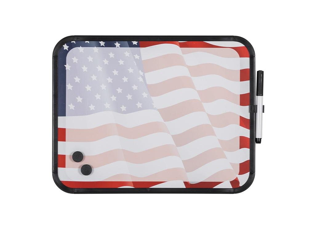 American Flag Dry-Erase Lap Board
