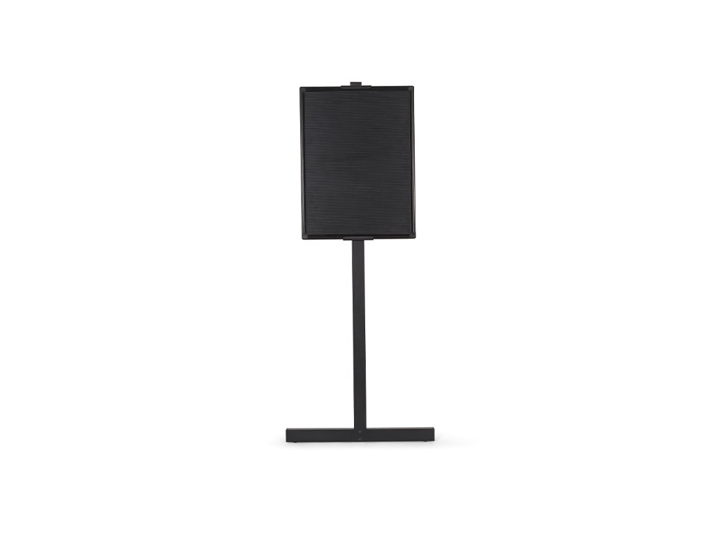 Black Aluminum Letter Board with Stand