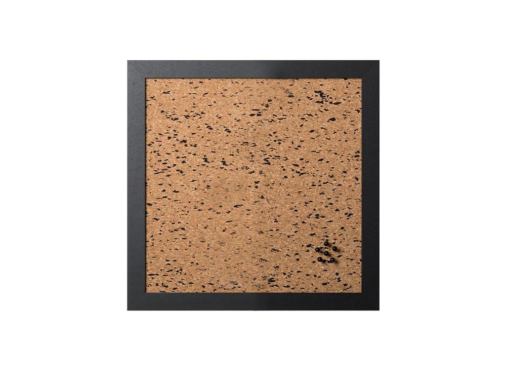 Black Speckled Natural Cork Board
