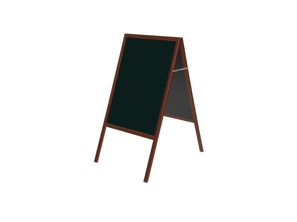 Cherry Magnetic Wet Erase A-Frame Sign Board