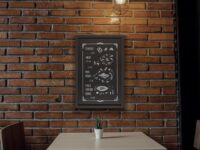 Decorative Chalkboard