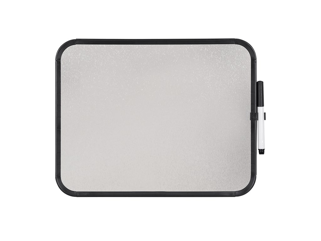 MAGNETIC DRY-ERASE BLACK FRAMED LAP BOARD
