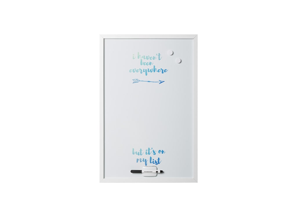 Quote Travel Dry Erase Boards