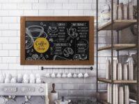 Rustic Chalk Board