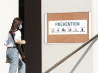 Weather Resistant Outdoor Cork Single Top Hinged Door Enclosed Bulletin Board