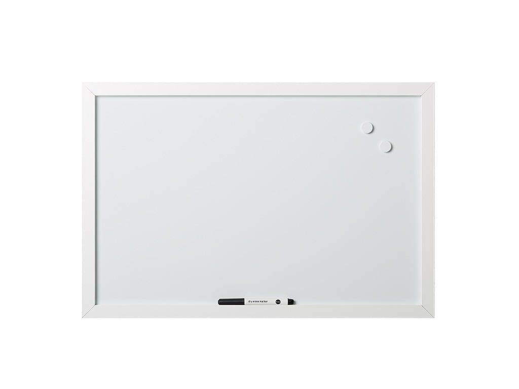 White Magnetic Dry-Erase Board