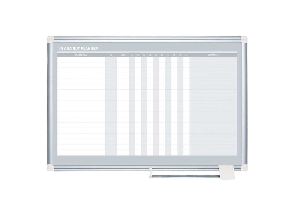 In_Out Magnetic Dry-Erase Board